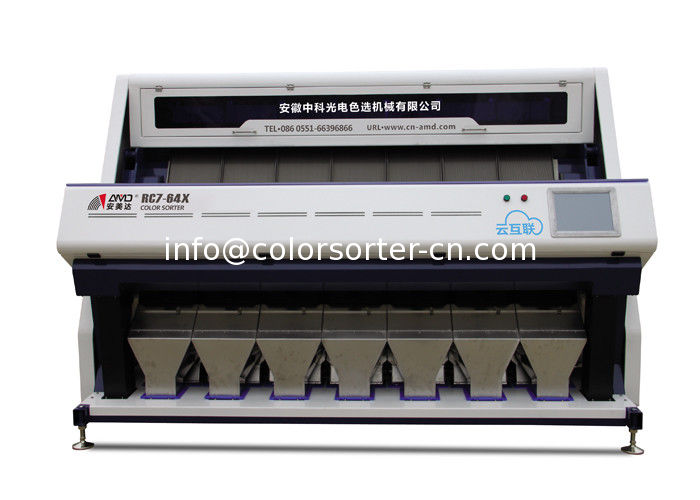Rice Sorting Machine Working Principle